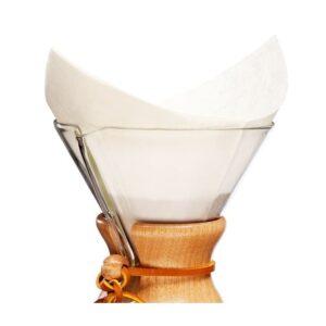 Chemex kaffefiltre - 6-kop kaffefiltre - køb dem på ønsk.dk