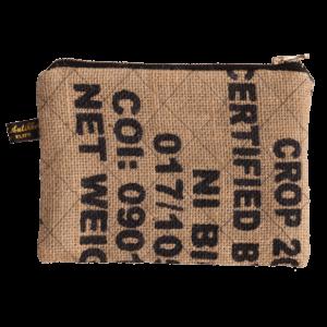 Taske lavet af kaffesække - upcycled kaffesække
