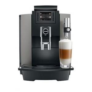 Jura WE8 - Fuldautomatisk kaffemaskine fra Jura. Hele bønner og frisk mælk.