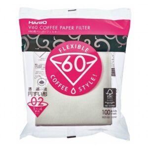 Hario V60 kaffefilter størrelse 2 - hario kaffefilter